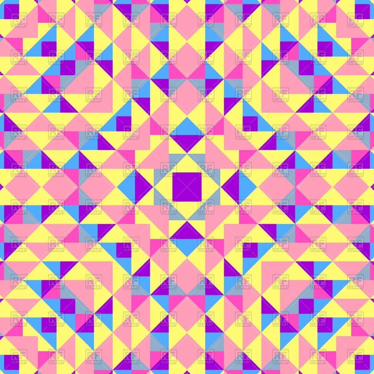 Abstract geometric patterns.