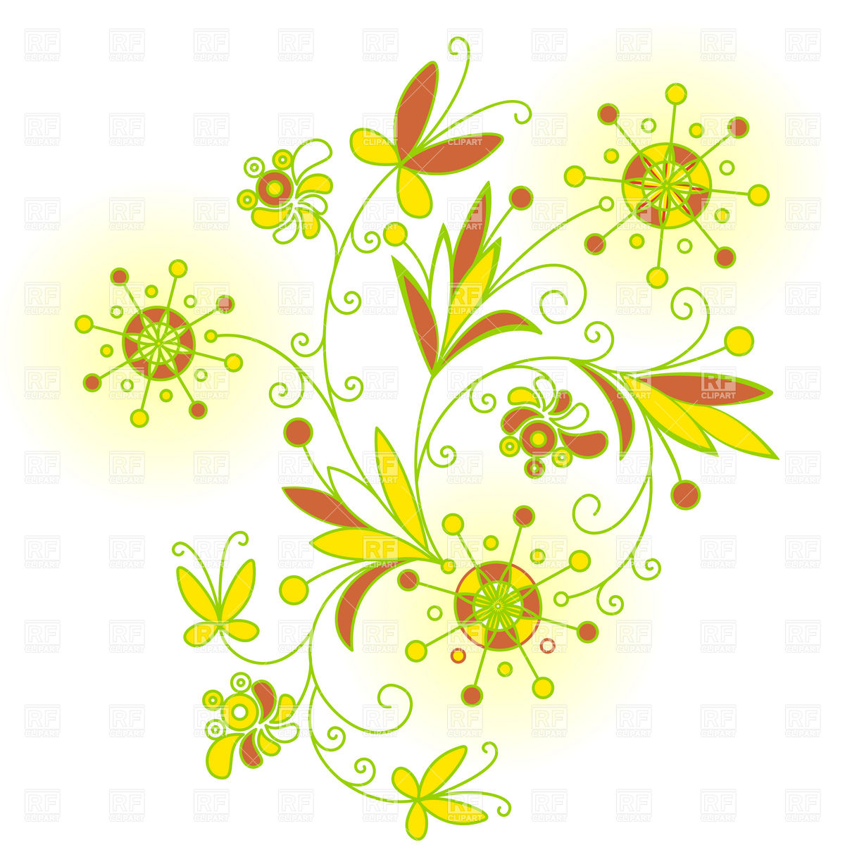 Abstract Designs Clipart.