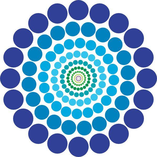 Pattern in art clipart.