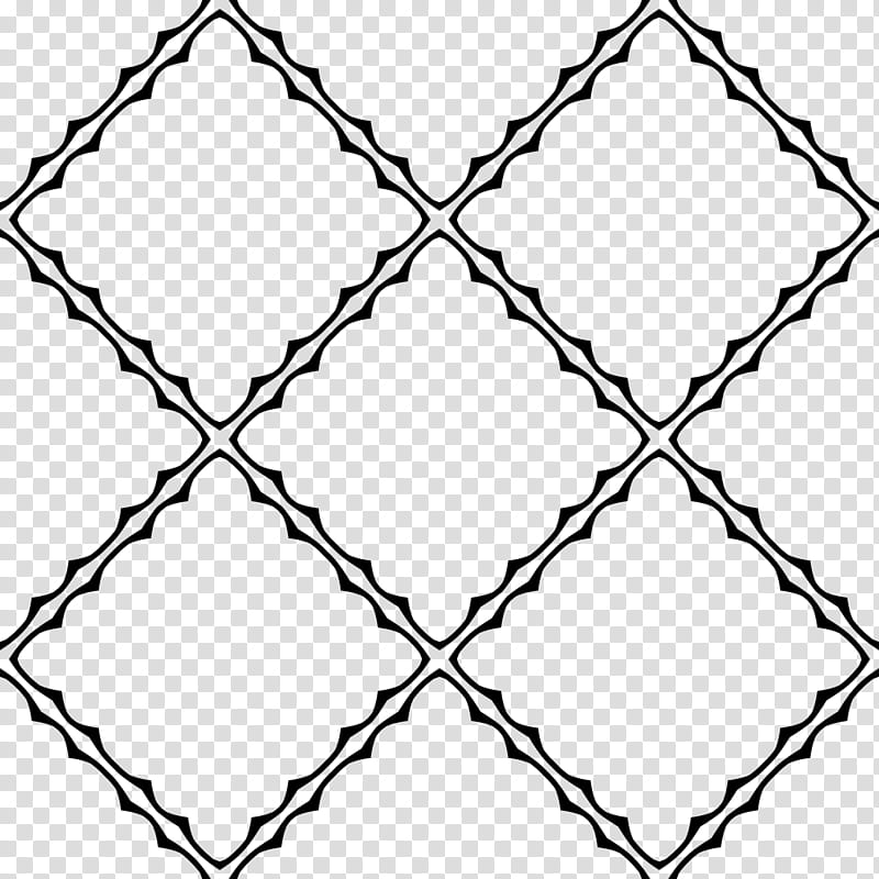 Gothic patterns, black and white abstract painting.