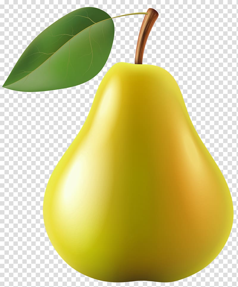 Yellow pear fruit, Pear , Pear transparent background PNG.