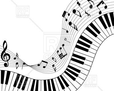 3302 Piano free clipart.