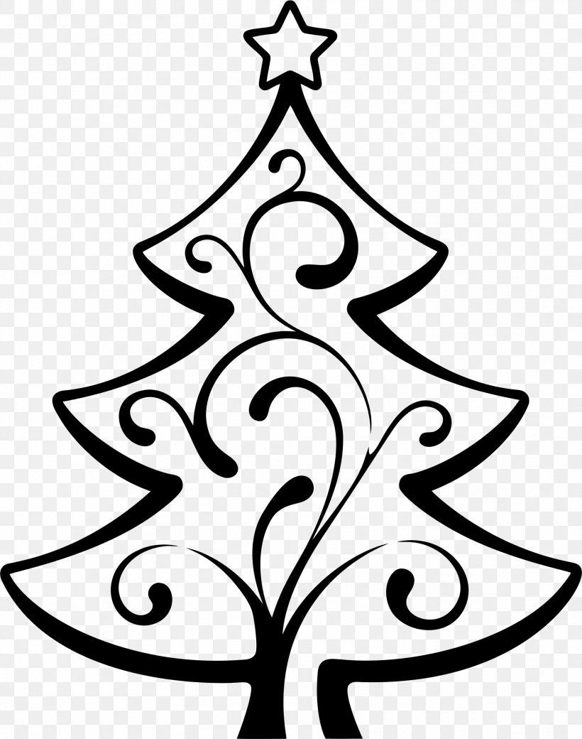Christmas Tree Wedding Invitation Line Art Clip Art, PNG.