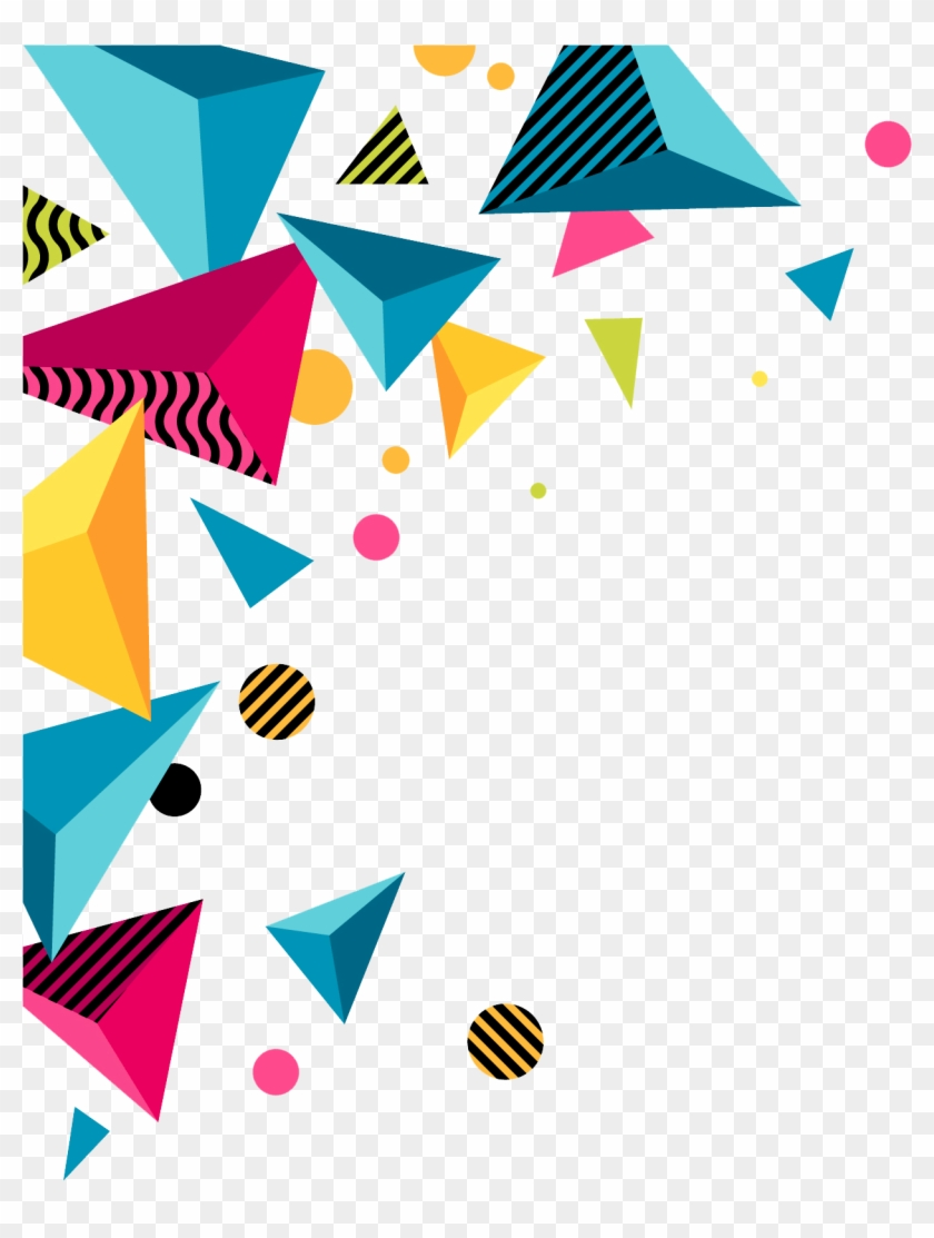 Abstract Borders Png Vector, Clipart, Psd.