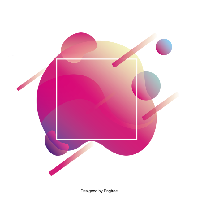 2019 的 Abstract Frame With Fashion Gradients Effect, Frame, Border.