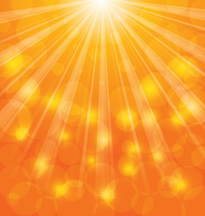 Abstract Background with Sun Light Rays Clipart Image.