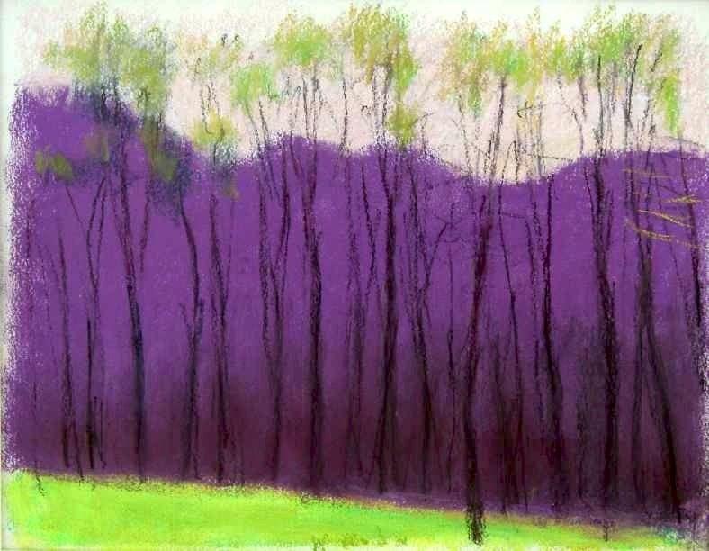 Wolf Kahn Landscapes.