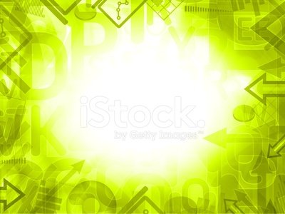 green abstract science analysis background frame Clipart.