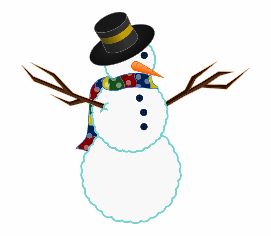 Snowman Clipart Easy.