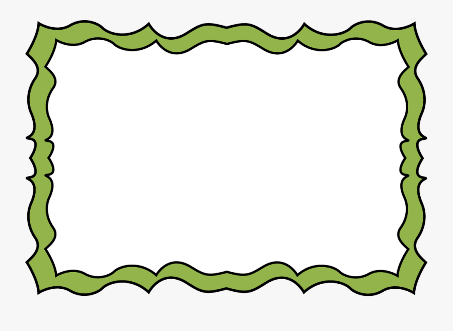 Squiggle Frame Clipart.