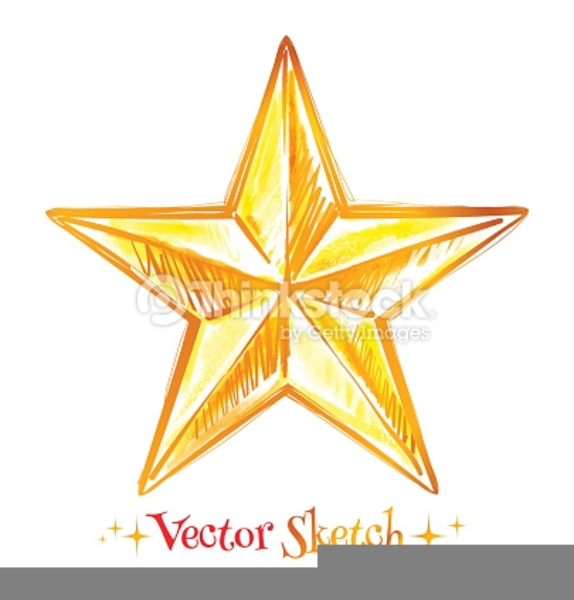 Abstract Star Clipart.