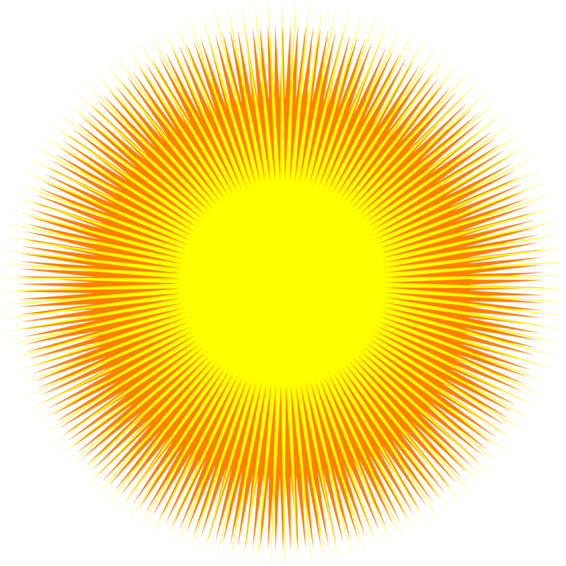 Download Free png Abstract Sun Clipart.