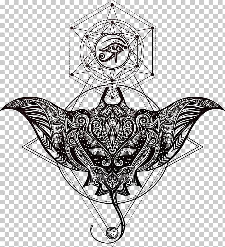 Polynesia Tattoo artist Myliobatoidei, Hand.