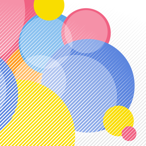 Abstract circular elements background.