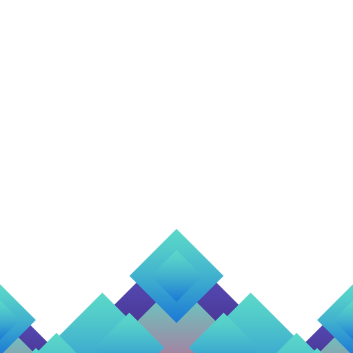 Abstract blue rhomb background.