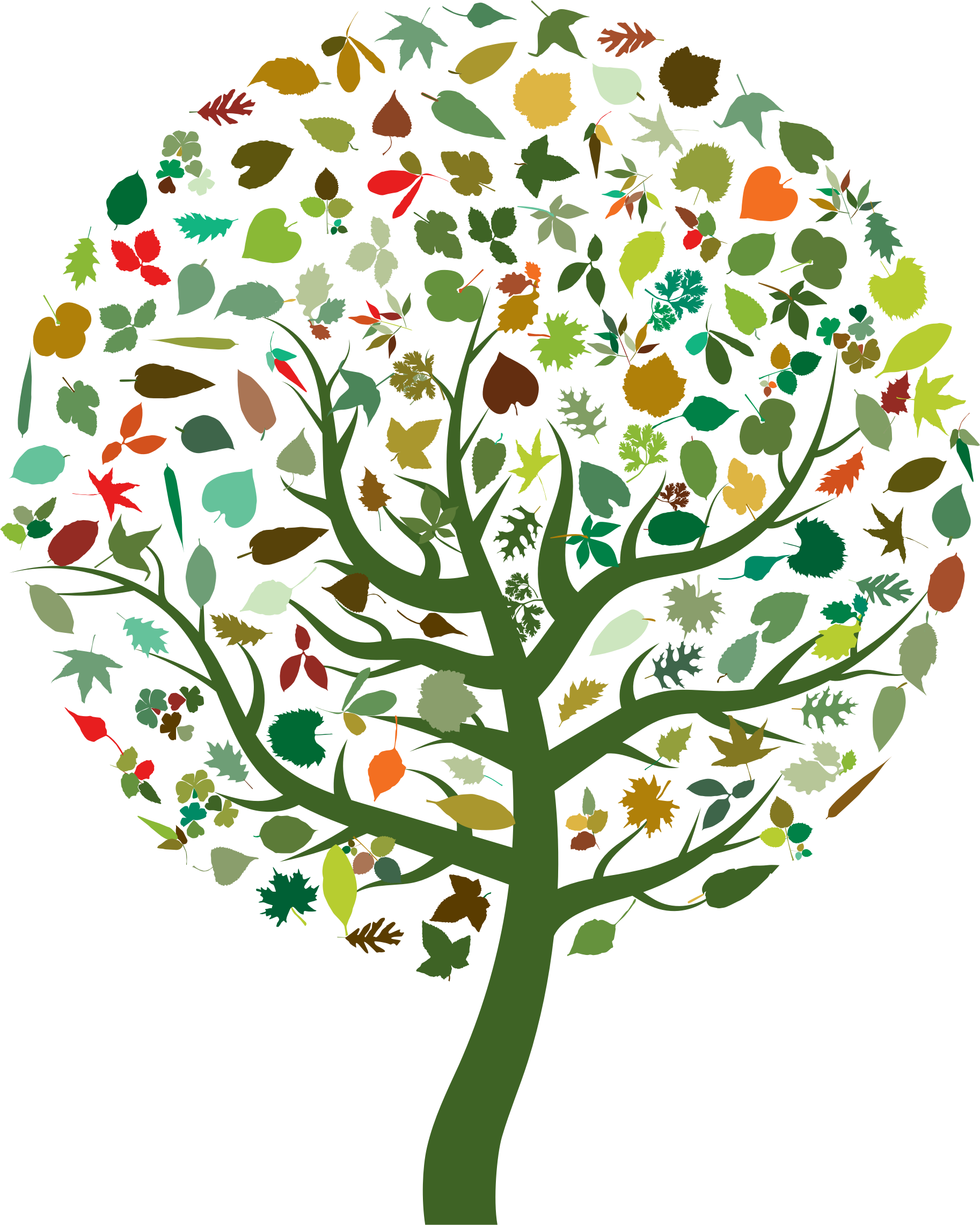 Abstract Tree Clipart.