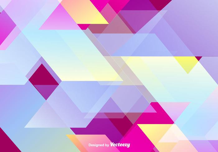 Abstract Colorful Wallpaper Vector Background.