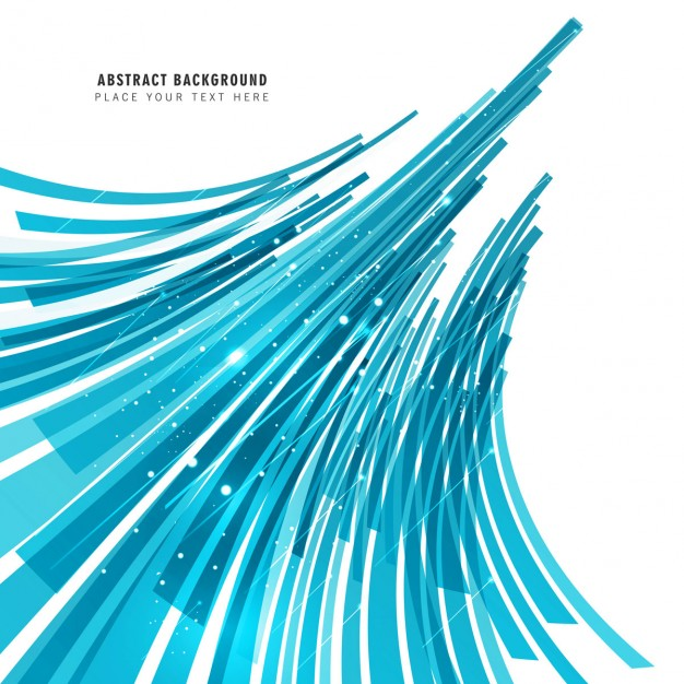 Abstract blue lines background Vector.