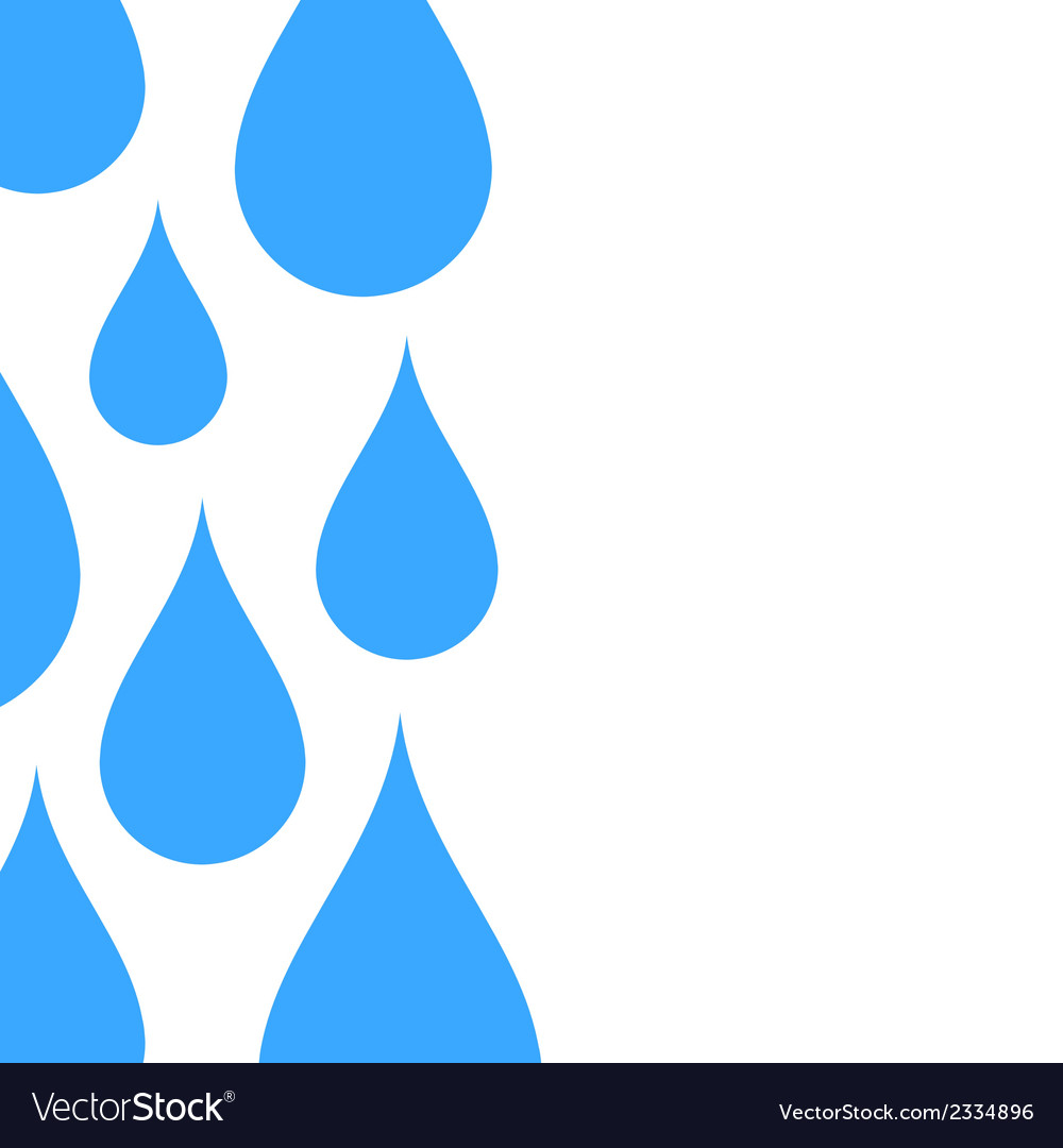 Water drop abstract background.