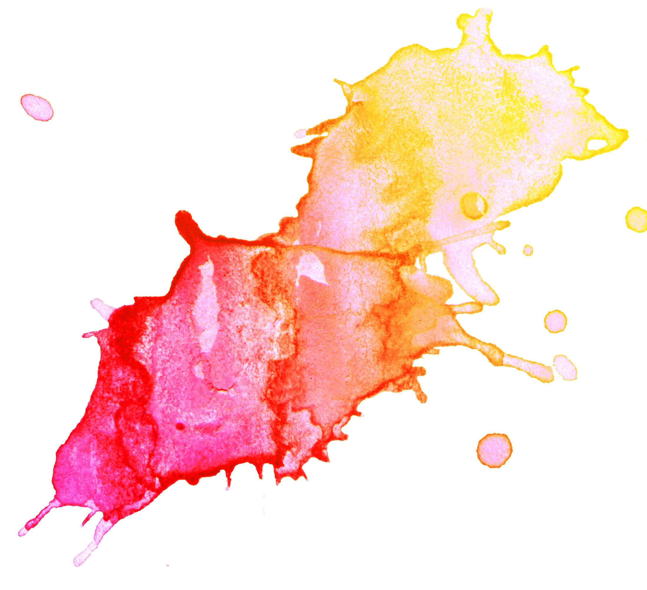 Watercolor Splash Clipart.