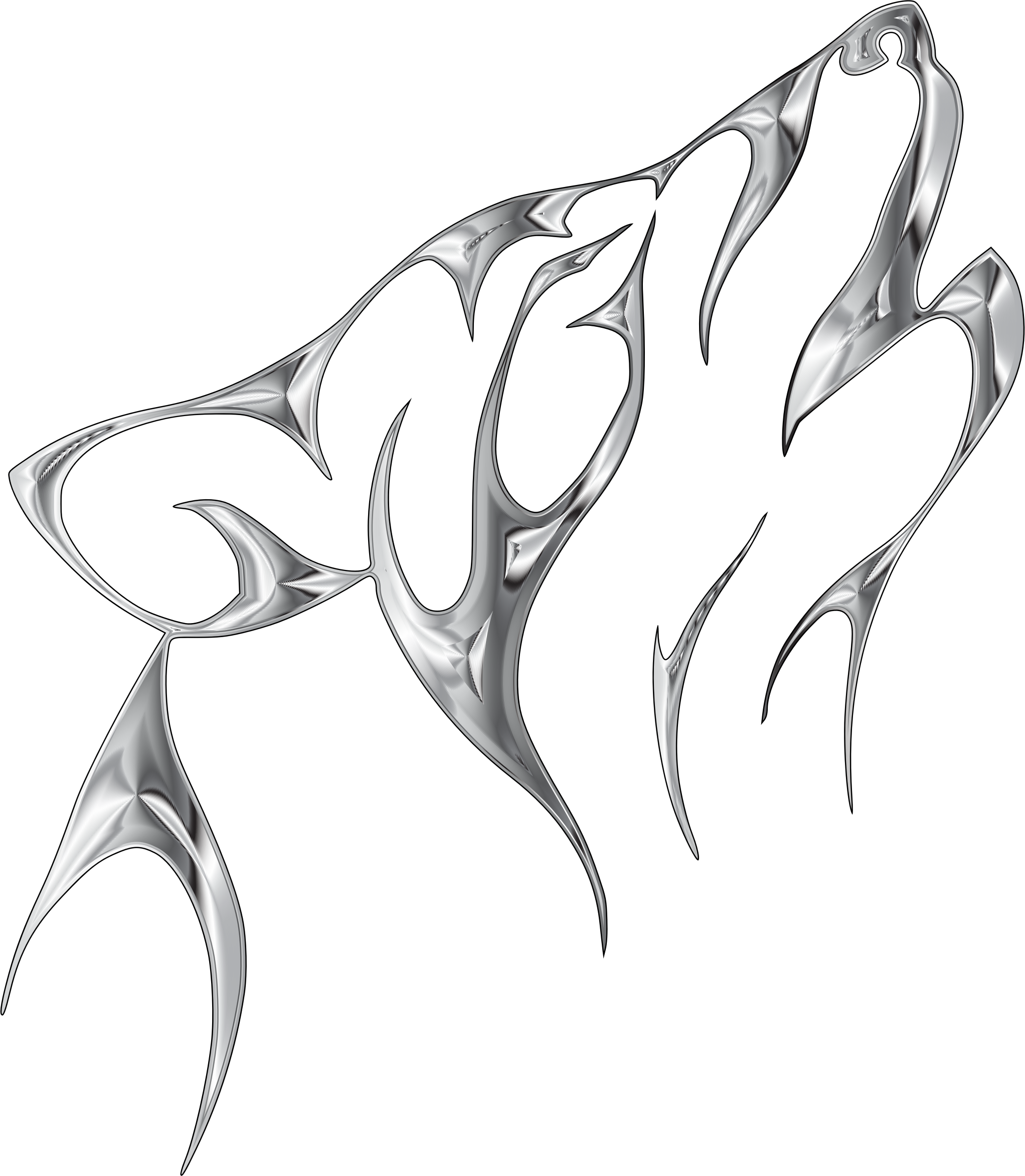 Wolves clipart abstract, Wolves abstract Transparent FREE.