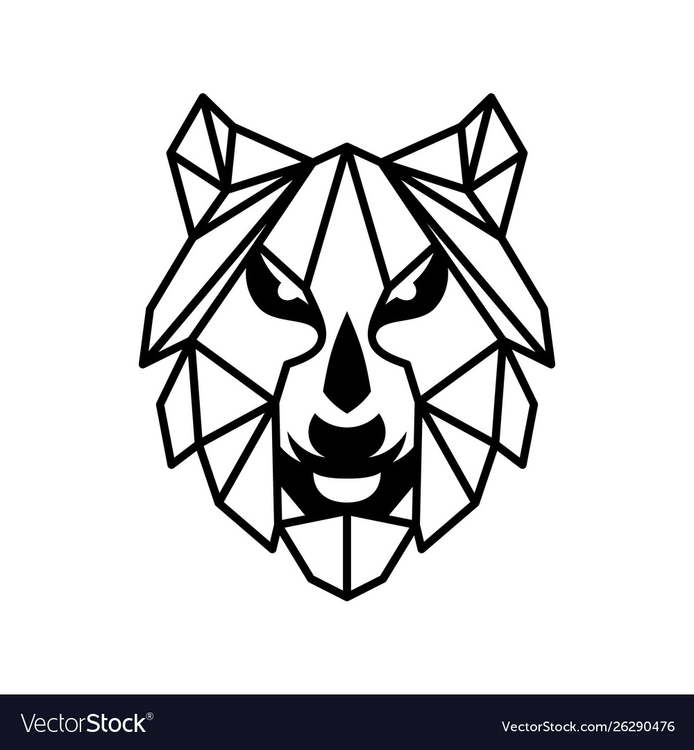 Face wolf.