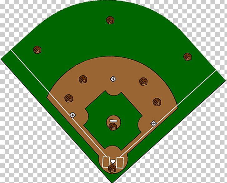 Baseball Field Baseball Positions Softball Diagram PNG.
