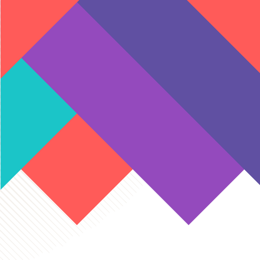Fondo cuadrado colorido abstracto.