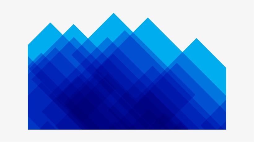Fondo Azul Abstracto Moderno Geom.
