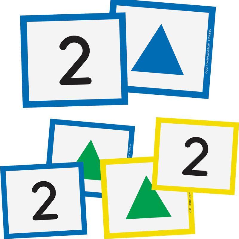 Math Work Station Management Cards: Grades Pre.