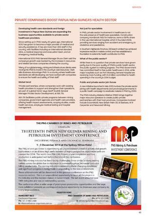 Business Advantage Papua New Guinea 2014 by Business Advantage.