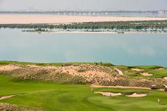Abu Dhabi Golf Club Royalty Free Stock Photos.