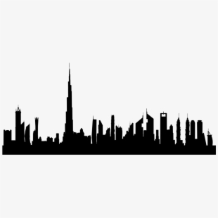 Skyline Clipart Uae.