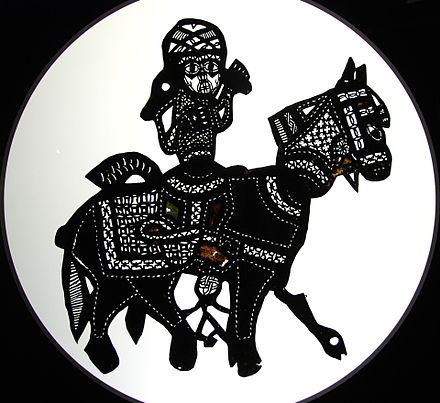 Arabisches Schattenspiel.