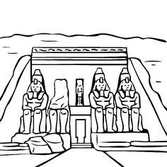Egyptian Obelisk for mummy.