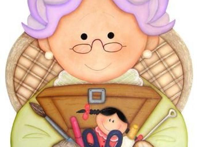 Abuela Cliparts 2.