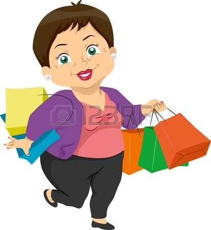 abuela: Ilustración que ofrece una cesta de Mujer Mayor.