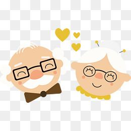 Happy Grandparents, Vector Png, Grandparents, Happy PNG Transparent.