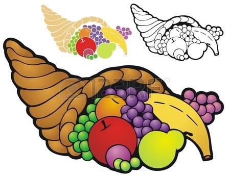 166 Thanksgiving Horn Of Abundance Stock Vector Illustration And.