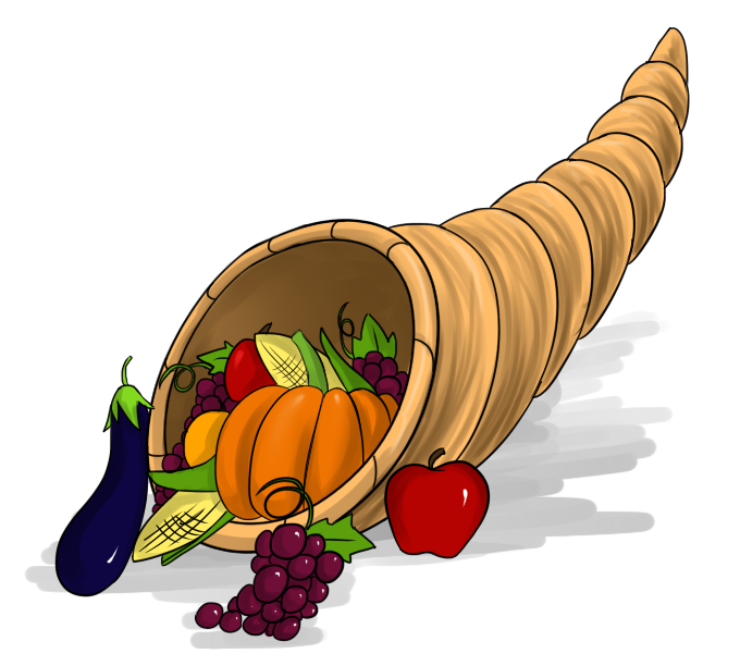 Free to Use & Public Domain Cornucopia Clip Art.