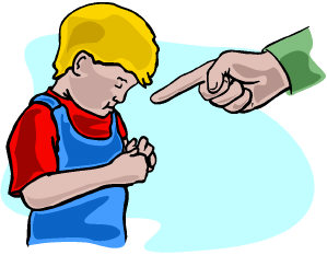 Parent Yelling At Child Clipart.