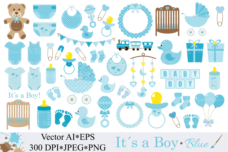 Baby Boy Clipart.
