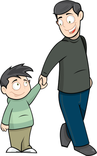 Father clipart #3
