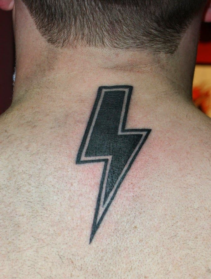 Lightning Bolt Tattoo on Wrist The Best Lightning Bolt Tattoo.
