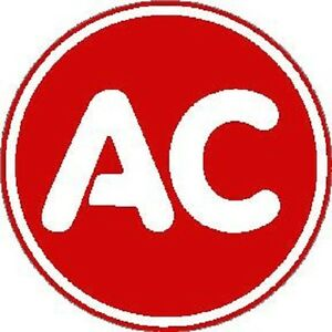 Details about AC DELCO ROUND VINYL DECAL (A2742).