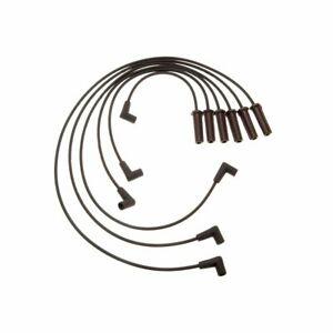 Details about AC Delco Set of 6 Spark Plug Wires New for Chevy Olds Pontiac  Grand 756S.