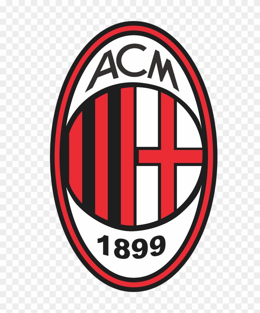 Ac Milan Escudo Vector.