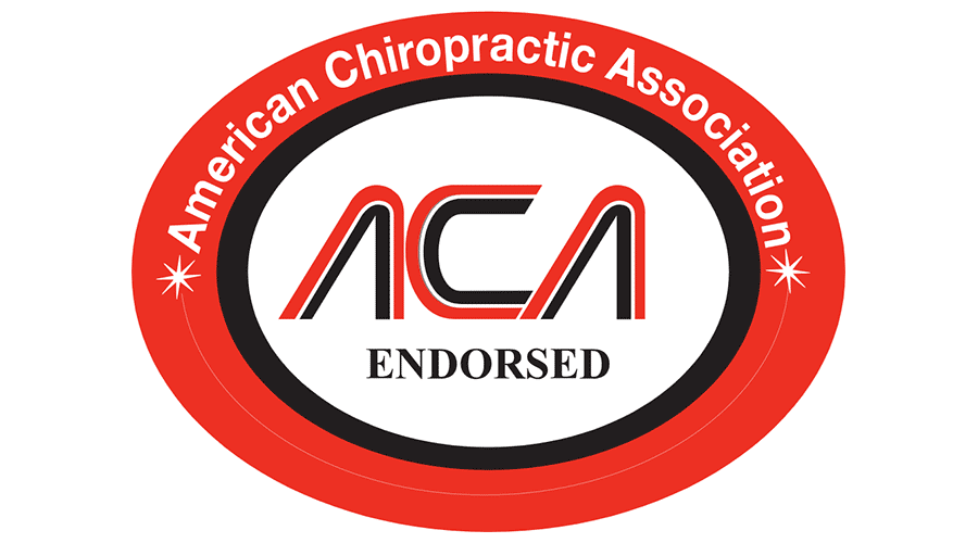 American Chiropractic Association (ACA) ENDORSED Logo Vector.