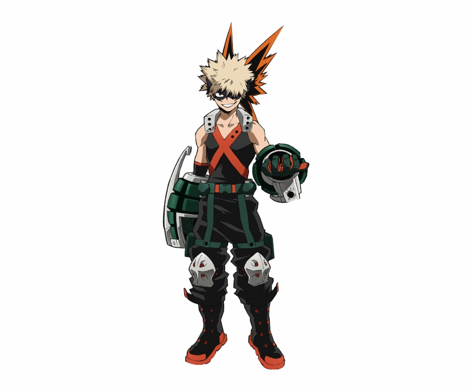 Bakugou My Hero Academia Character Free PNG Images & Clipart.