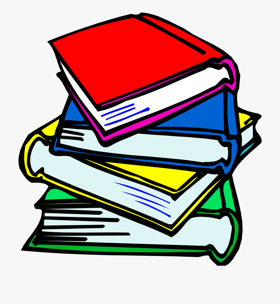 Clipart Of Books, Book And Academic, Cliparts & Cartoons.